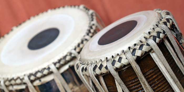 The archaic rhythms of the relative creation express itself in classical Indian rhythms