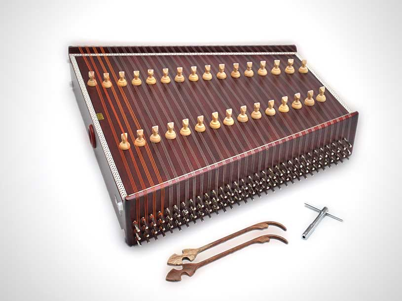 History of Santoor instrument
