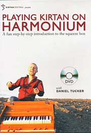Playing Kirtan on Harmonium by Daniel Tucker